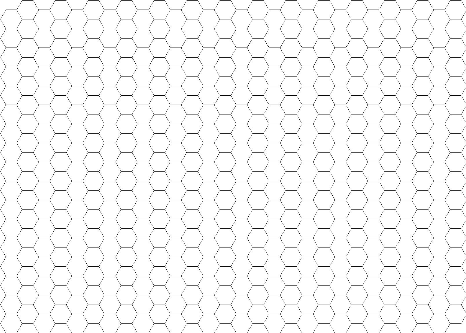 graphic regarding Printable Hexagon Graph Paper named Totally free Printable Graph Paper