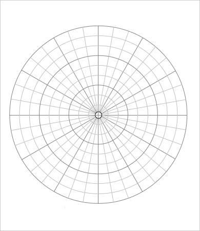 Polar Graph Paper Sheet